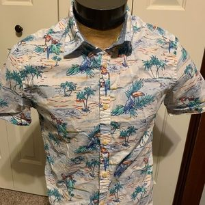 Tommy Hilfiger New York Fit Short Sleeve Button Up